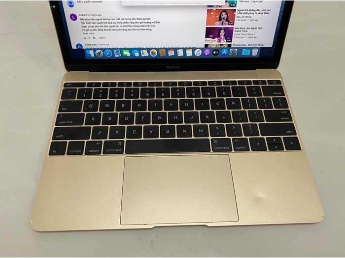 Macbook Retina 12 Core M 8g 256g nguyên zin0