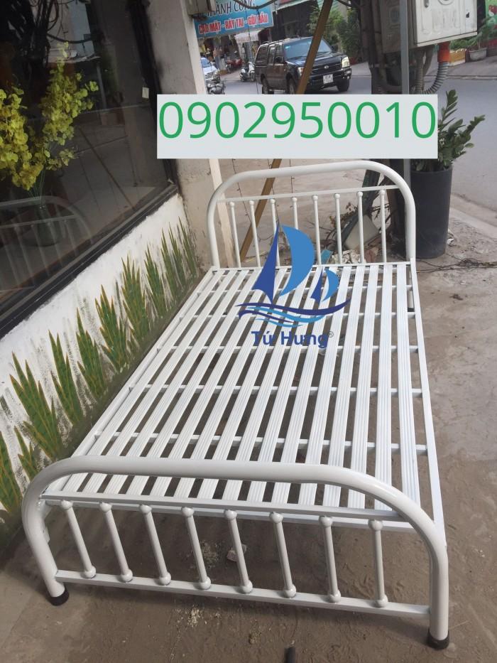 Giường sắt Bi 1m2x2m2