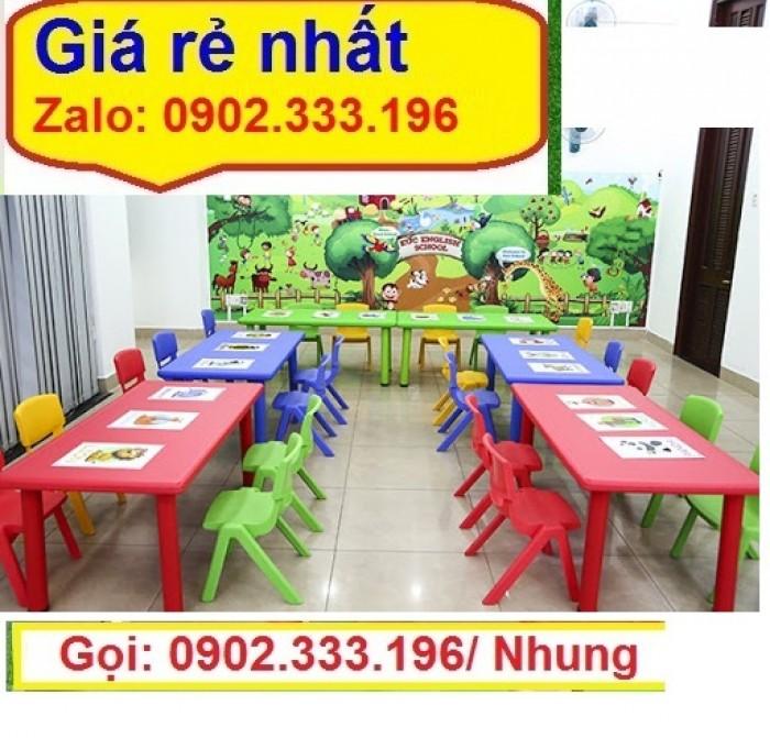 Chuyên cung cấp bàn ghế nhựa mẫu giáo6