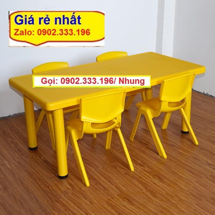 Chuyên cung cấp bàn ghế nhựa mẫu giáo8