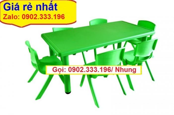 Nơi bán bàn ghế nhựa đúc mầm non giá rẽ0