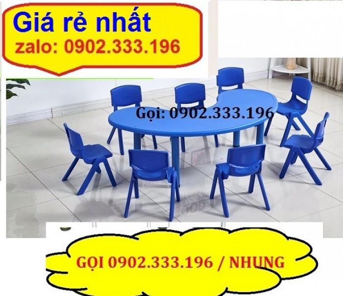 Nơi bán bàn ghế nhựa đúc mầm non giá rẽ9