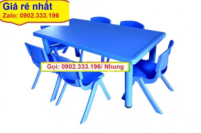 Nơi bán bàn ghế nhựa đúc mầm non giá rẽ10