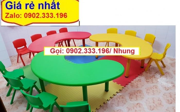 Nơi bán bàn ghế nhựa đúc mầm non giá rẽ11