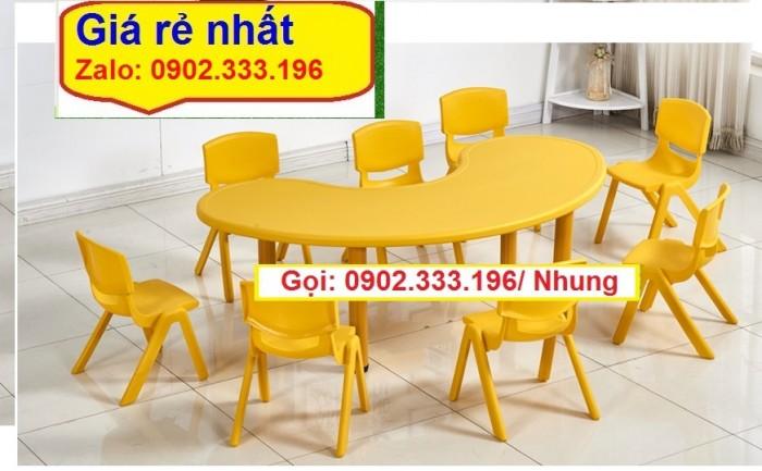 Nơi bán bàn ghế nhựa đúc mầm non giá rẽ8