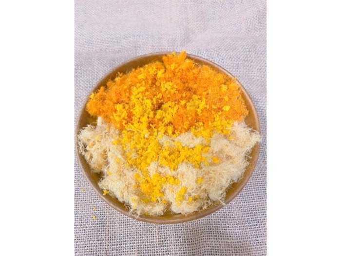 Bánh bông lan sốt bơ trứng muối3