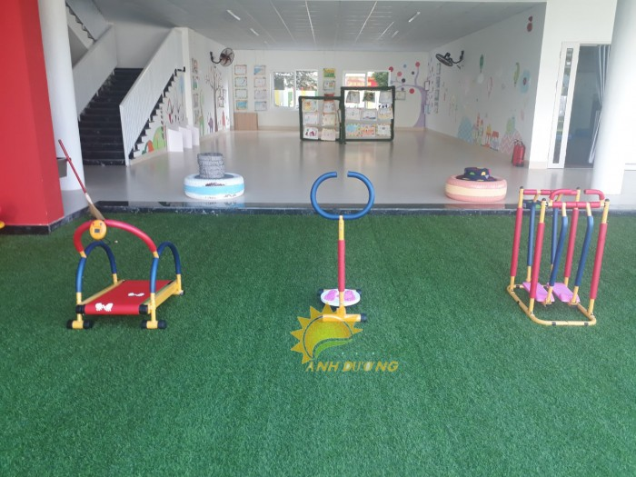 Chuyên dụng cụ tập gym siêu đáng yêu dành cho các bé mầm non0
