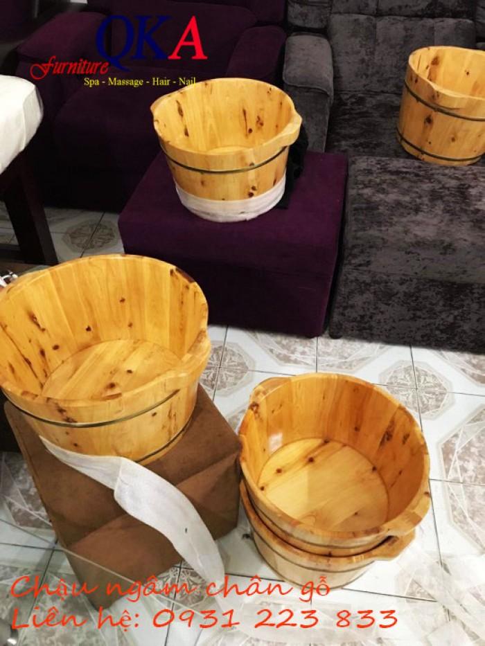 chậu ngâm chân bằng gỗ giá rẻ3