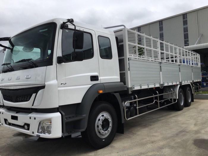 Tây Ninh, giá xe tải Nhật bản FUSO 3 chân 15 tấn, xe 15 tấn FUSO,trả góp 20202