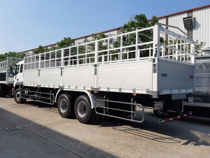 Tây Ninh, giá xe tải Nhật bản FUSO 3 chân 15 tấn, xe 15 tấn FUSO,trả góp 20206