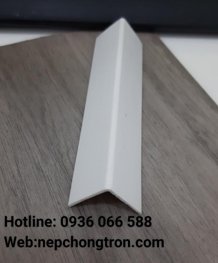 Nẹp ốp góc chữ V nhựa PVC cao cấp , nẹp chữ V0