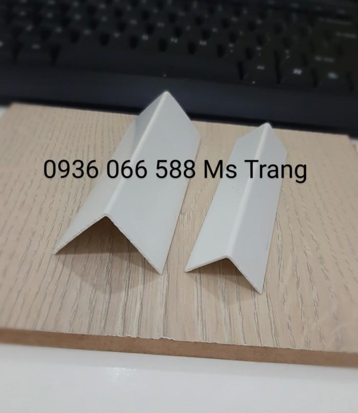 Nẹp ốp góc chữ V nhựa PVC cao cấp , nẹp chữ V3