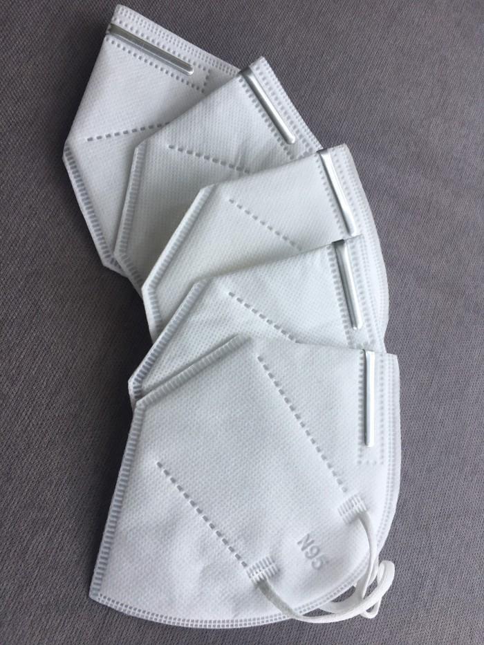 Khẩu trang y tế DaDa Mask VN95 515 – Hộp 5 cái màu xám không van2