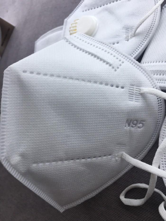 Khẩu trang y tế DaDa Mask VN95 515 – Hộp 5 cái màu xám không van3