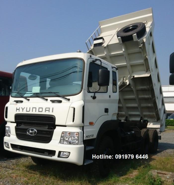 Bán xe Ben Hyundai 15T HD270, nhập khẩu giao ngay3