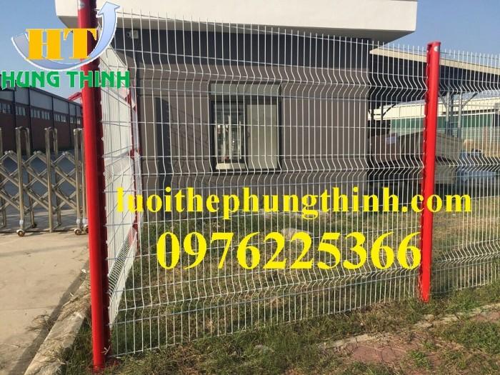 Sản xuất hàng rào mạ kẽm nhúng nóng, hàng rào sơn tĩnh điện giá tốt1