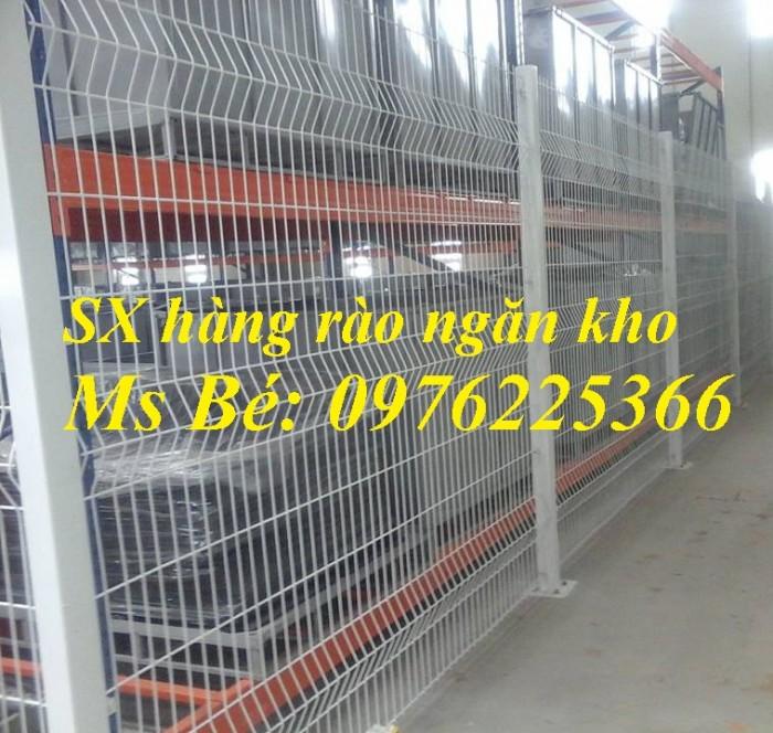 Sản xuất hàng rào mạ kẽm nhúng nóng, hàng rào sơn tĩnh điện giá tốt3