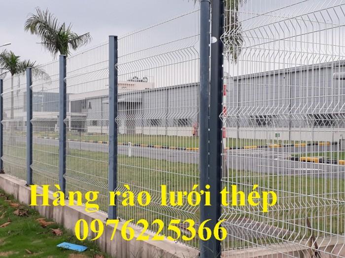 Sản xuất hàng rào mạ kẽm nhúng nóng, hàng rào sơn tĩnh điện giá tốt5