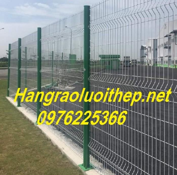 Sản xuất hàng rào mạ kẽm nhúng nóng, hàng rào sơn tĩnh điện giá tốt6