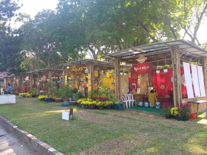 Thi công gian hàng tre nứa tại TP Hồ Chí Minh, TP HCM, Sài Gòn, Bình Dương