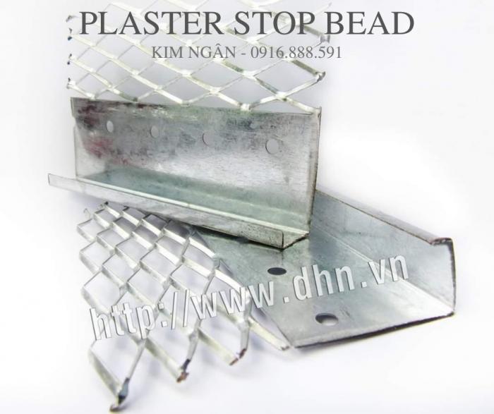 Plaster Stop Bead - Nẹp kết thúc tường tô - Nẹp tiếp giáp giữa hai vạt liệu0
