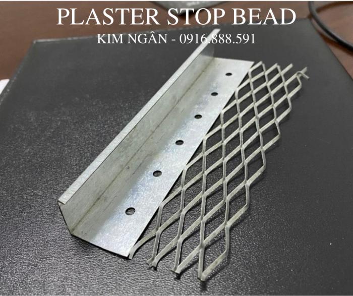 Plaster Stop Bead - Nẹp kết thúc tường tô - Nẹp tiếp giáp giữa hai vạt liệu2