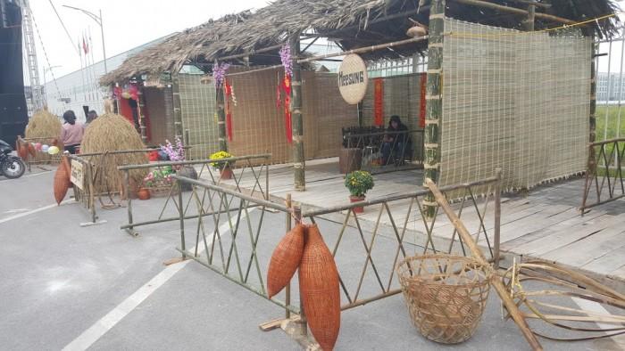 cho thuê gian hàng hội chợ bằng tre lá, tre nứa, tre trúc, tại hồ chí minh