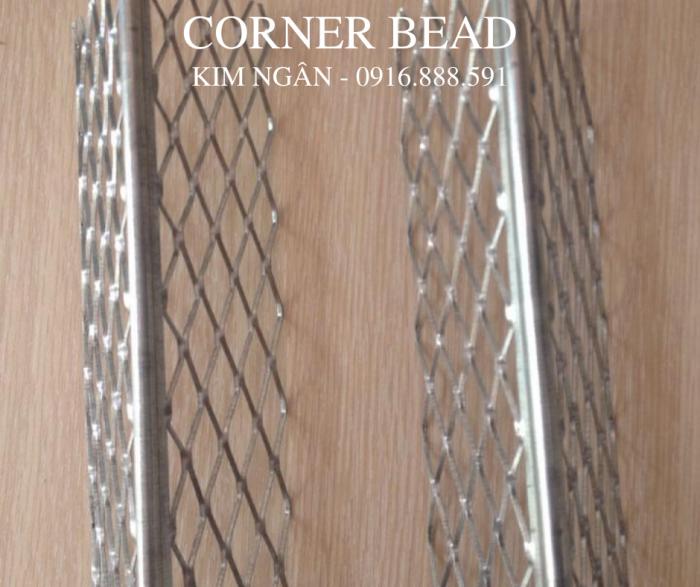 Corner Bead - Nẹp V góc bằng thép mạ kẽm - Nẹp tô góc bằng thép1