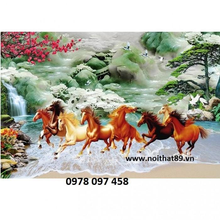 Tranh phong thủy - tranh ngựa2