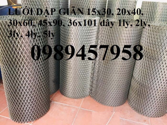 Lưới mắt cáo, lưới hình thoi 10x20, 20x40, 30x60, 45x90, 22x60, 36x1017
