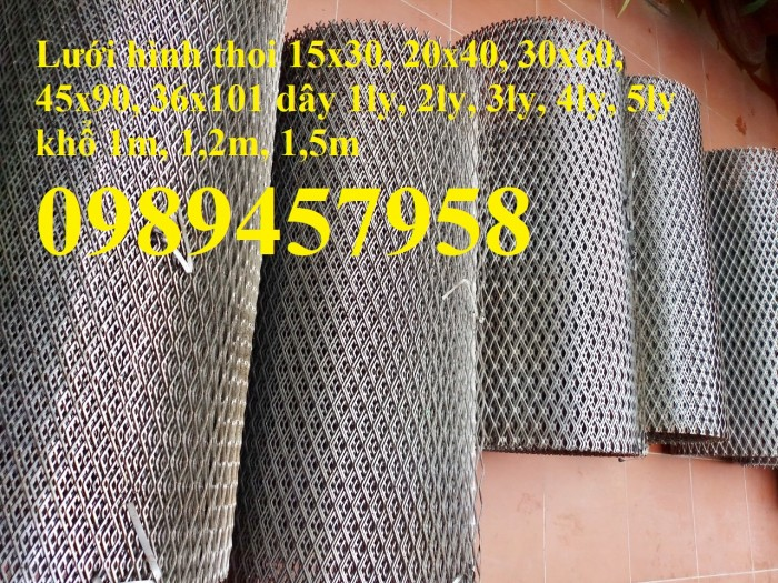 Lưới bén, lưới trát tường, lưới mắt cáo 10x20, 20x40, 30x60, 45x90 mới 100%3