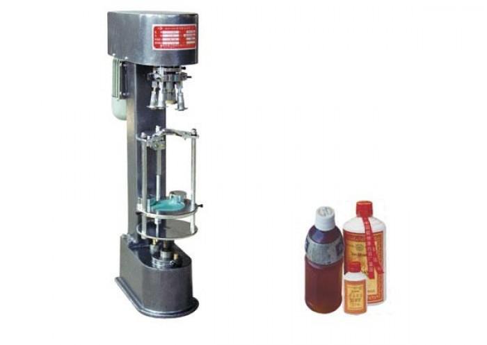 Máy siết nắp chai nhựa, máy đóng nắp chai thủy tinh nắp nhôm JGS8800