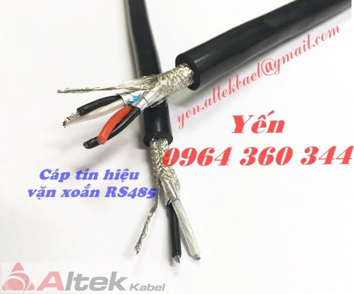 Cáp tín hiệu âm thanh, cáp vặn xoắn rs485 altek kabel0