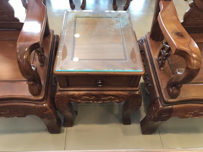Bộ bàn ghế phòng khách tay 10 gỗ lim giá siêu rẻ0