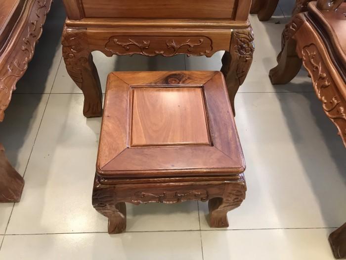 Bộ bàn ghế phòng khách tay 10 gỗ lim giá siêu rẻ1