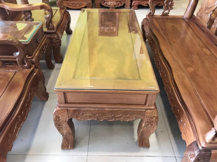 Bộ bàn ghế phòng khách tay 10 gỗ lim giá siêu rẻ2