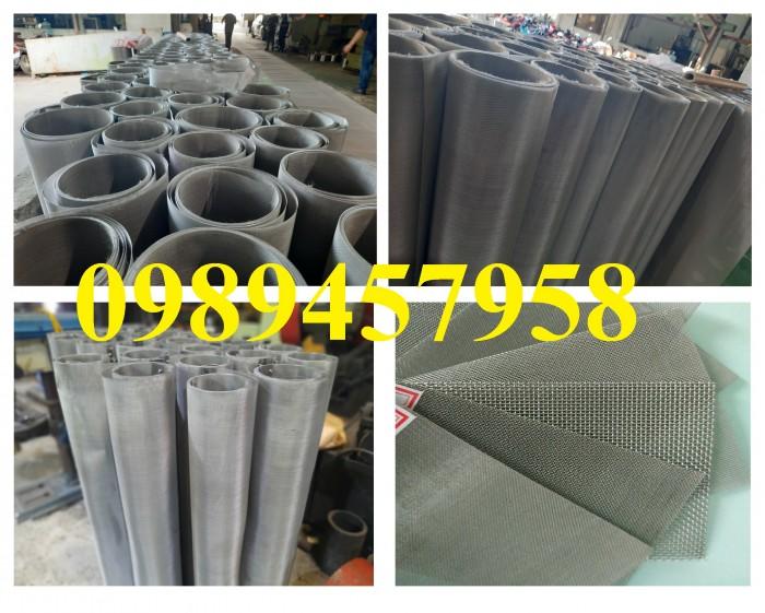 Lưới inox 304 5x5, 10x10, 20x20 khổ 1m, 1,2m, 1,5m, lưới đan inox2