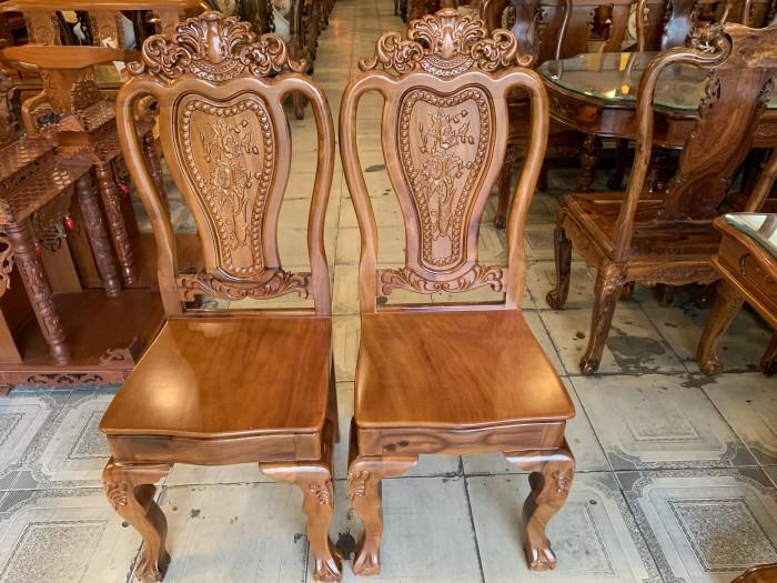 Bộ bàn ăn 6 ghế gỗ tự nhiên được ưa chuộng nhất tại Sài Gòn0