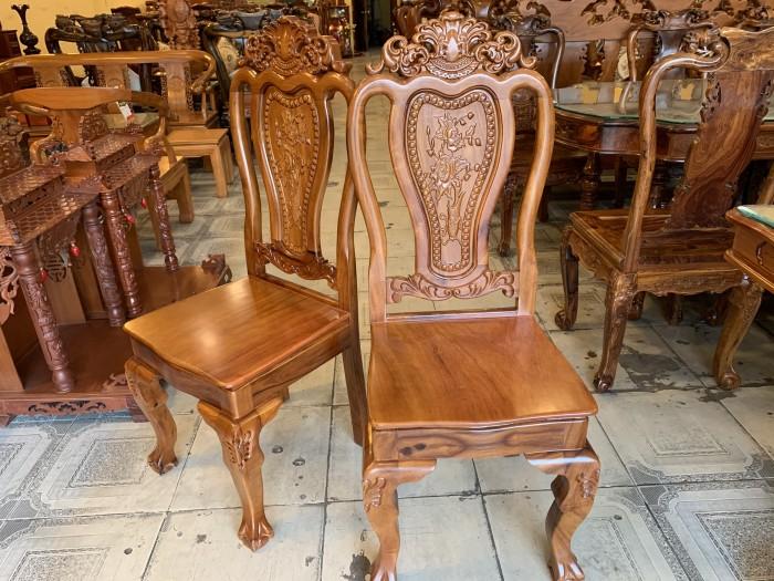 Bộ bàn ăn 6 ghế gỗ tự nhiên được ưa chuộng nhất tại Sài Gòn6