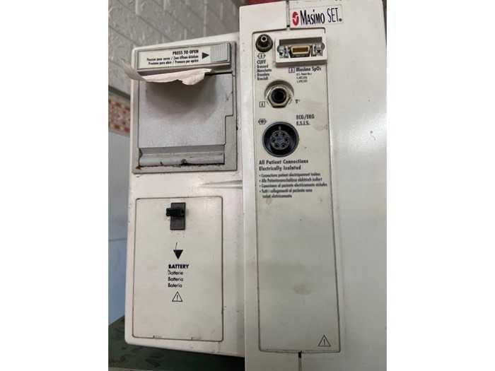 Thanh lý máy thở+ Minitor theo dõi bệnh nhân3
