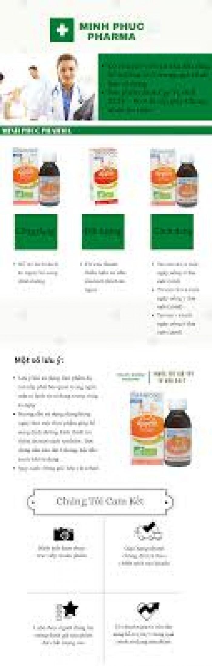 Siro ăn ngon hữu cơ Granions2