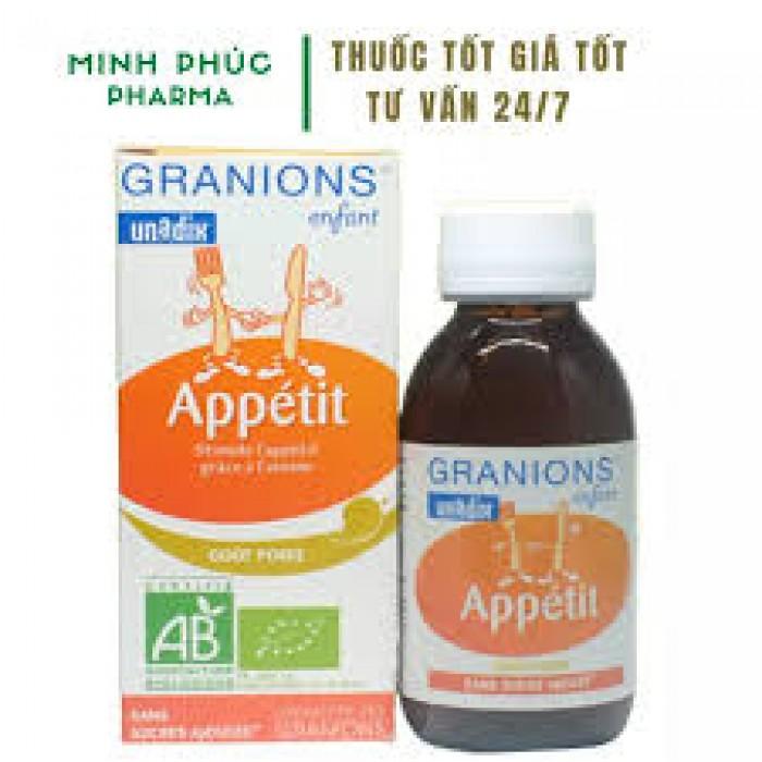 Siro ăn ngon hữu cơ Granions1