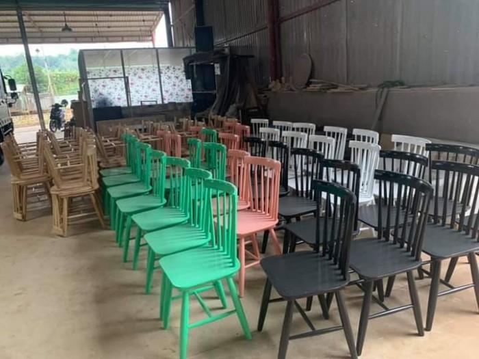 Xưởng ghế gỗ giá cực rẻ..2