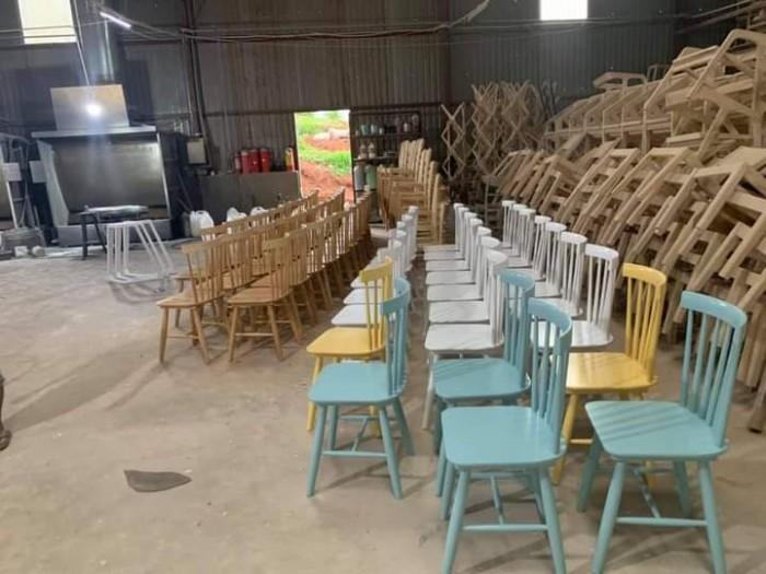Xưởng ghế gỗ giá cực rẻ..3