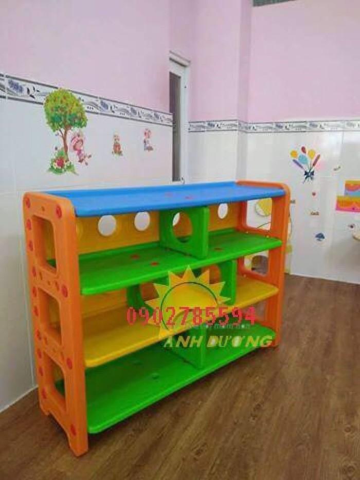 Kệ mầm non dành cho các bé giá rẻ - uy tín - chất lượng - bảo hành 1 năm2