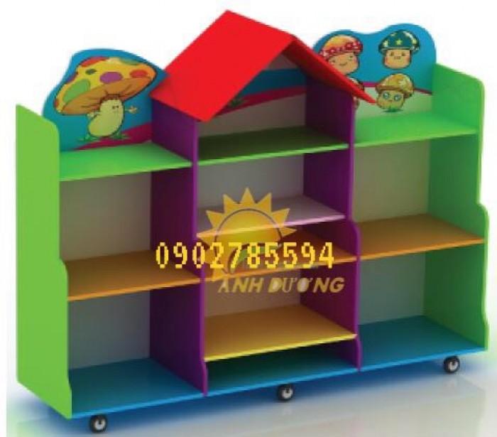 Kệ mầm non dành cho các bé giá rẻ - uy tín - chất lượng - bảo hành 1 năm3