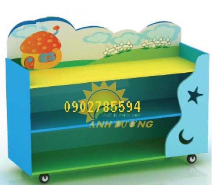 Kệ mầm non dành cho các bé giá rẻ - uy tín - chất lượng - bảo hành 1 năm4