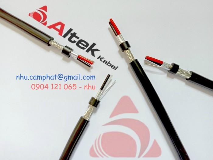 Cáp RS485 Altek Kabel ( Vặn xoắn chống nhiễu lưới và phôi nhôm )0
