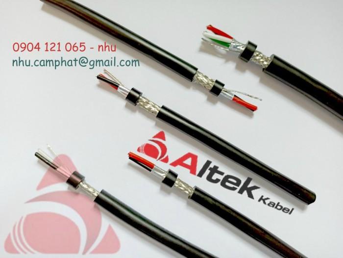 Cáp RS485 Altek Kabel ( Vặn xoắn chống nhiễu lưới và phôi nhôm )1