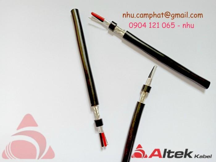 Cáp RS485 Altek Kabel ( Vặn xoắn chống nhiễu lưới và phôi nhôm )2